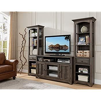 home styles 5050 34 modern craftsman 3 piece gaming entertainment center distressed. Black Bedroom Furniture Sets. Home Design Ideas
