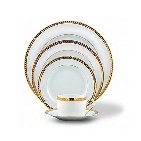 Bernardaud Athena Gold Five Piece Place Setting  sc 1 st  Amazon.com & Amazon.com | Bernardaud Athena Gold Five Piece Place Setting ...
