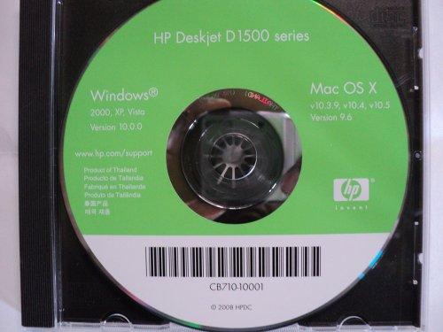 - Hp Deskjet D 1500 Printer Series (Support / Drivers / Software)