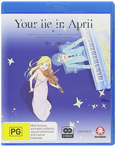 Blu-ray : Your Lie In April Part 2: Eps 13-22 (Australia - Import, 2 Disc)