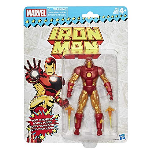 (Marvel Retro 6-inch Collection Iron Man Figure)