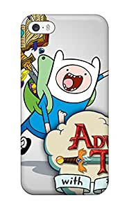 Top Quality Protection Adventure Time Case Cover For Iphone 5/5s