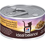 Hill's Ideal Balance Slow-Cooked Chicken Recipe 24-Pack Cat Food Can, 2.9-Ounce