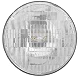Philips H6024C1 Standard Halogen Sealed Beam headlamp, 1 Pack