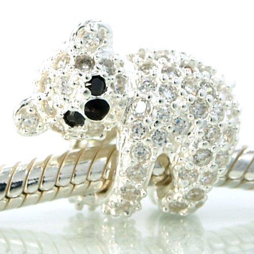 Koala Bear Bead - Pro Jewelry .925 Sterling Silver