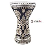Gawharet El Fan 18.5'' The Northern Star NG Sombaty Mother of Pearl Darbuka Doumbek Drum