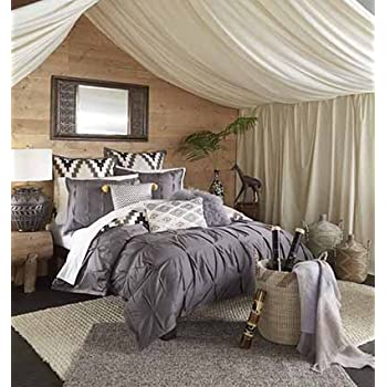 Blissliving Home 14173BEDDKNGPWT Tanzania Harper 110 Inch By 96 Inch  3 Piece King