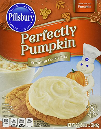 Pillsbury Perfectly Pumpkin Premium Cookie Mix, 17.5 oz. by Pillsbury