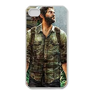 iPhone 4 4s Cell Phone Case White The Last Of Us Custom FDJHBHGSD8019