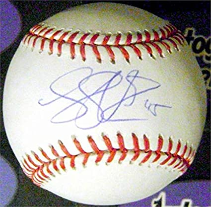 bf86d9d5 Image Unavailable. Image not available for. Color: Luke Voit autographed  baseball (OMLB New York Yankees ...