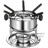 Dowan SH081 Stainless-steel Fondue Pot Set