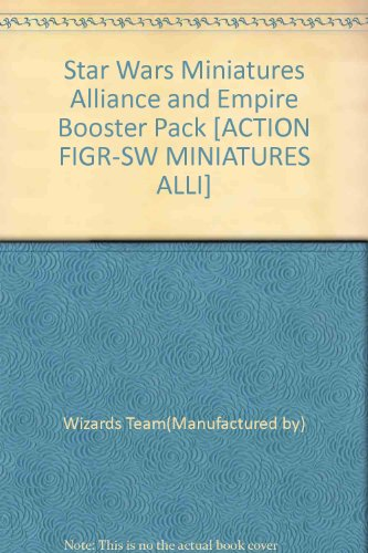 Star Wars Miniatures Alliance and Empire Booster Pack [ACTION FIGR-SW MINIATURES ALLI] ()