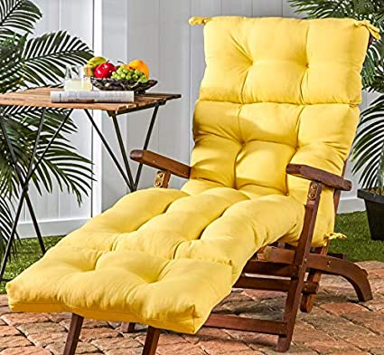 Amazon Com Large Chaise Lounge Cushion 72 Inch Chair Outdoor Patio