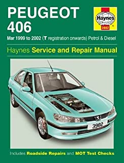 haynes owners workshop car manual peugeot 406 petrol diesel 96 rh amazon co uk peugeot 406 service manual pdf peugeot 406 service manual