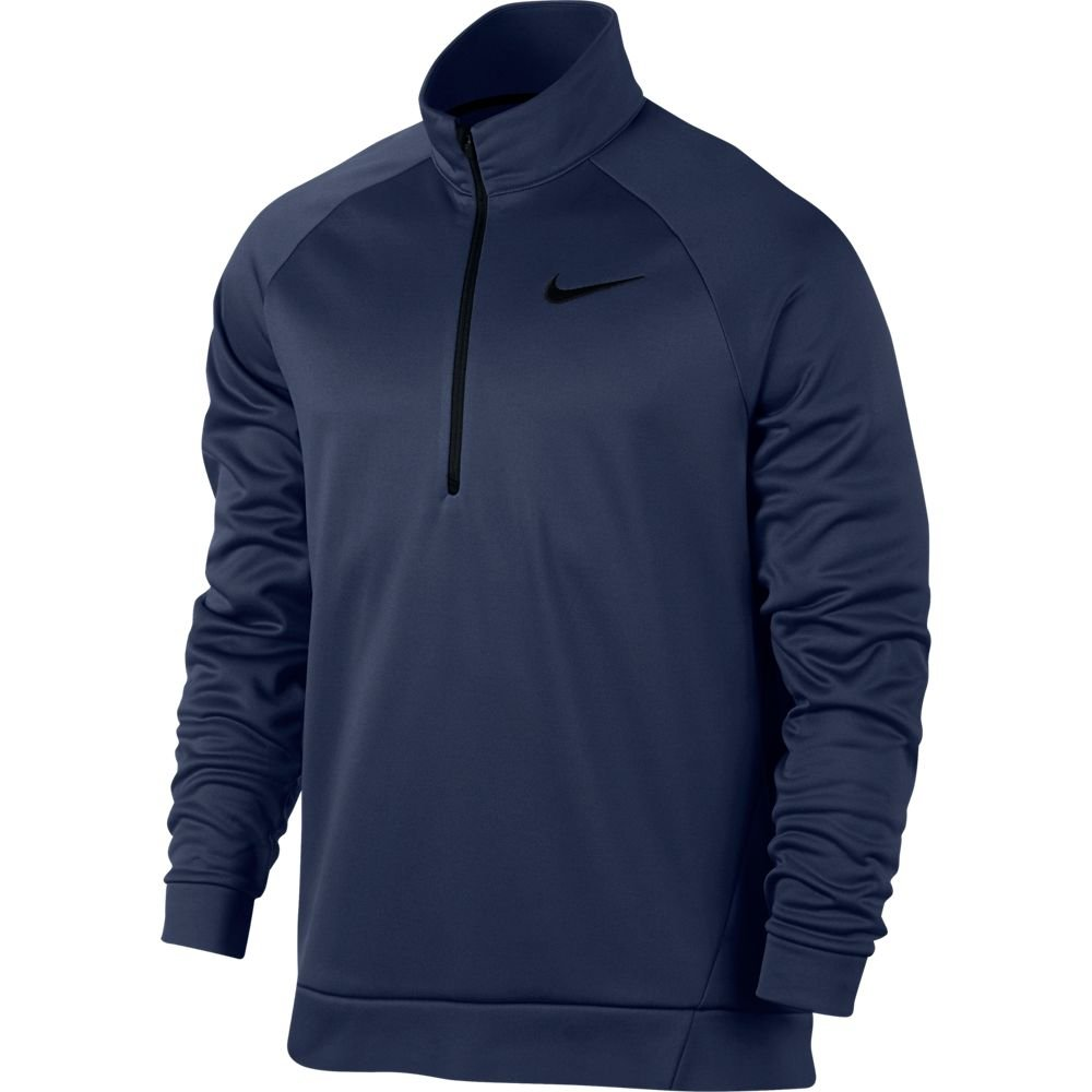 Binary bleu noir XXL Nike pour Homme Therma Training Top