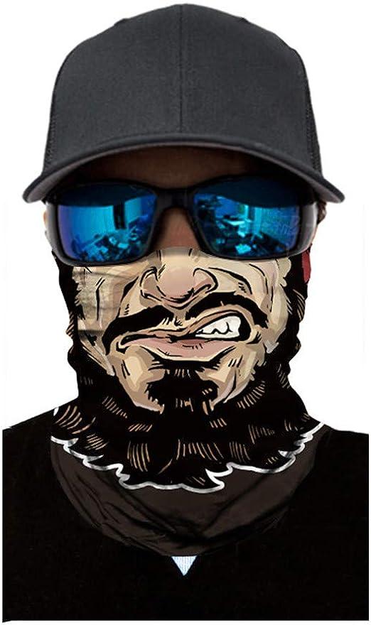 Magic Headwear Lines Stripes Outdoor Scarf Headbands Bandana Mask Neck Gaiter Head Wrap Mask Sweatband
