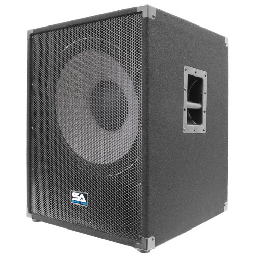 Seismic Audio - Enforcer II - Pair of PA 18'' Subwoofer Speaker Cabinet by Seismic Audio (Image #3)