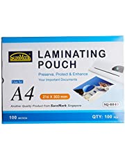 Suremark SUR-LP-SQ6040 Laminating Pouch 100 Micron (100's/bx) - 216X303mm