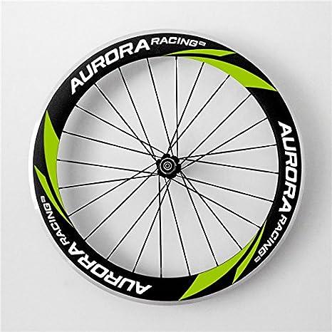 Aurora Racing 700 C 60 mm de profundidad 23 mm Ancho Aleación Cubierta para rueda de bicicleta de carretera DT Swiss 240S Hub Sapim CX-Ray: Amazon.es: ...