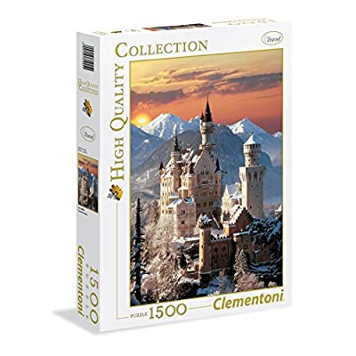 Clementoni 31925 High Quality Collection Puzzle Neuschwanstein 1500 Pezzi