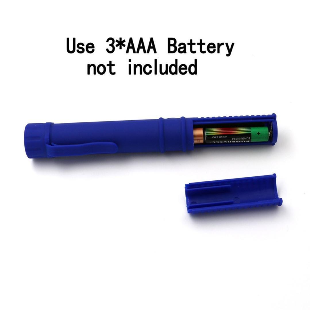 Blau 250LM Tragbare Superhelle Handlampe Pocket Pen Inspektionsleuchten Clip mit Magnetische Gusspower COB LED Arbeitsleuchte Taschenlampe ideal f/ür Camping Outdoor Workshop Automobil