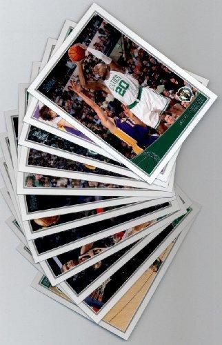 2009 10 Topps Basketball Boston Celtics Complete Team Set of 12 Cards