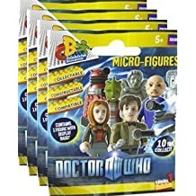 Doctor Who Character Building Micro Figure Series 1 (4 sealed packages, like LEGO-compatible Minifigures)