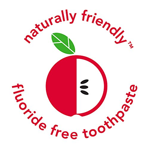 518aUUSoyuL - Hello Fluoride Free Training Toothpaste For Toddlers + Kids, 4 Count | Natural Apple Flavor, Safe To Swallow