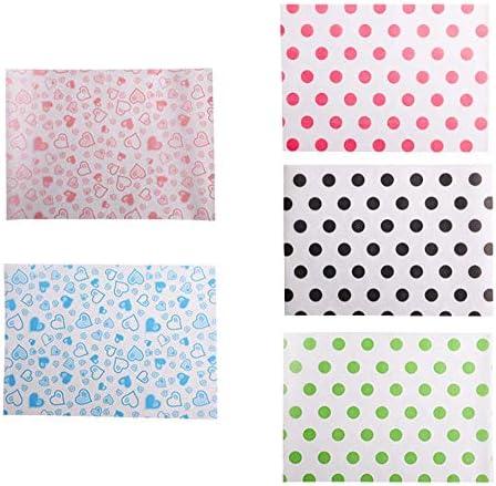 1000個のキャンディラッパーカラメルラッパーかわいいパターンの包装袋、A2