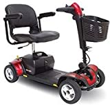 Pride Mobility - Go-Go Sport - Travel Scooter - 4-Wheel - Red