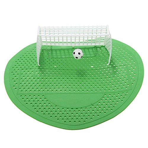 BleuMoo Football Soccer Shoot Goal Style Urinal Screen Filter Mat