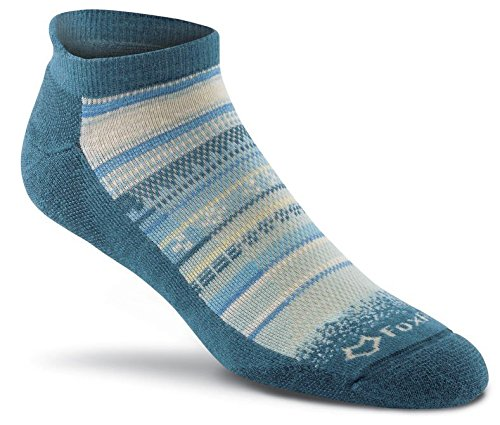 Fox River Women's Mariposa Ankle Socks, Large, Lyons Blue - Fox River Ankle Socks
