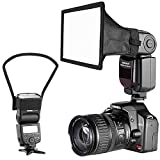 Neewer Camera Speedlite Flash Softbox and Reflector Diffuser Kit for Canon Nikon