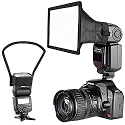 Neewer Camera Speedlite Flash Softbox & Reflector Diffuser Kit For Canon Nikon & Other Dslr Cameras Flashes, Neewer Tt560 Tt850 Tt860 Nw561 Nw670 Vk750ii Flashes