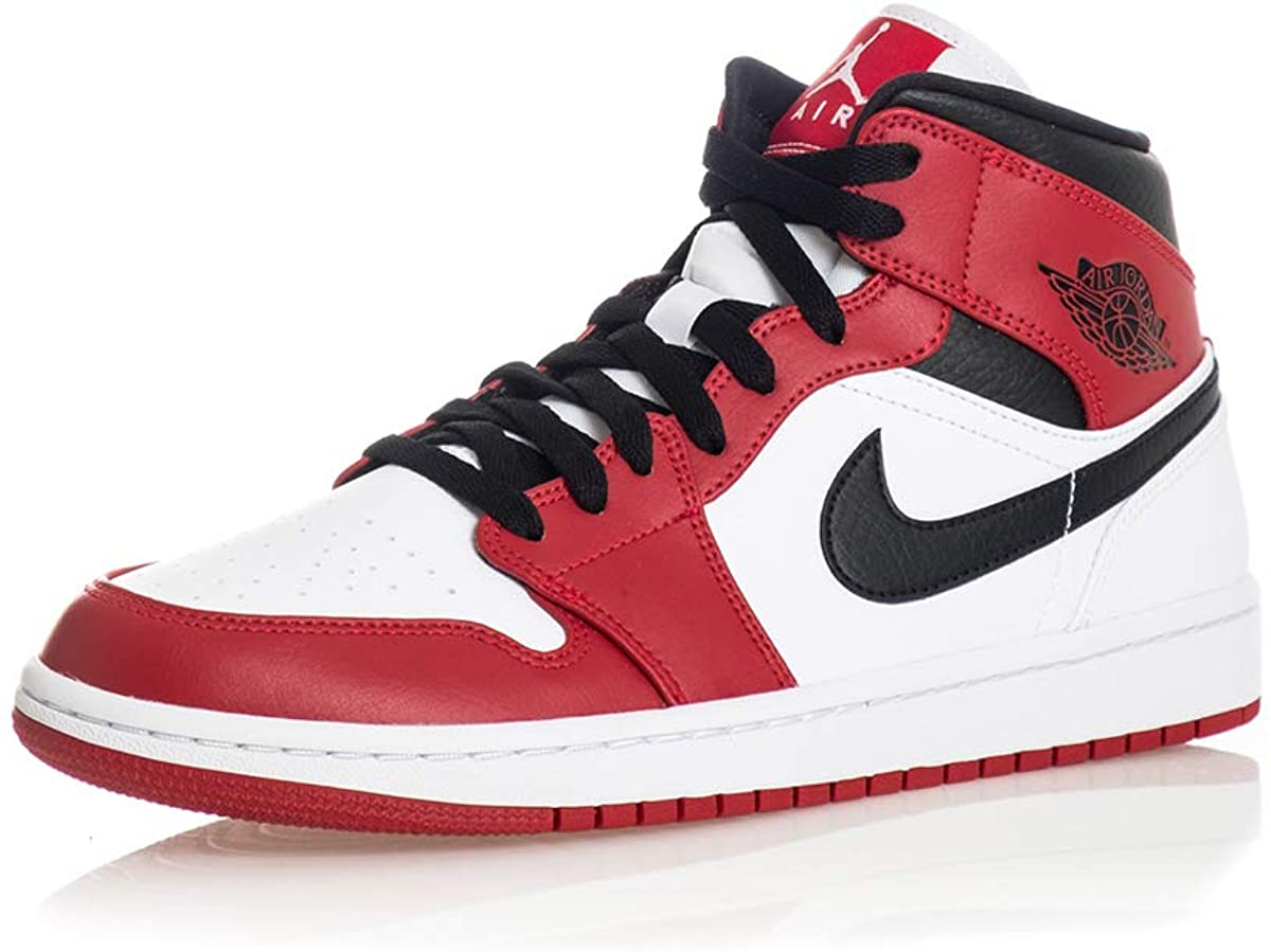 Pertenece Inhibir Algún día  Jordan Men's Shoes Nike Air 1 Mid Chicago 554724-173: Amazon.ca: Shoes &  Handbags