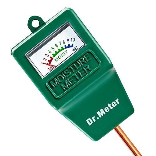 Dr.Meter Moisture Sensor Hydrometer for Indoor/Outdoor Use