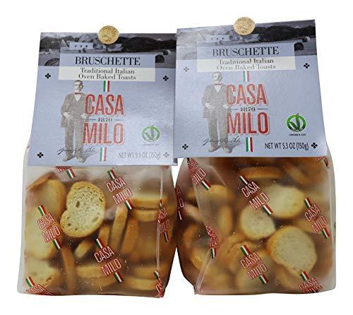 Casa Milo- Bruschette Traditional Italian Oven Baked Toasts