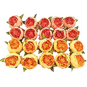 cn-Knight Artificial Flowers Silk Rose 50PCS Real-Touch Fake Rose with Stem for DIY Wedding Décor Bride&Bridesmaid Bouquets Home Office Baby Shower Party Prom Centerpieces Arch Garland Photostudio 76