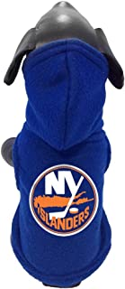 product image for All Star Dogs NHL New York Islanders Polar Fleece Hooded Dog Sweatshirt, Medium, Royal