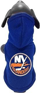 product image for All Star Dogs NHL Unisex NHL New York Islanders Polar Fleece Hooded Dog Sweatshirt