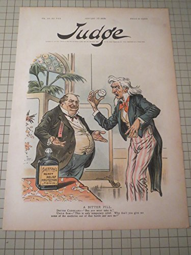 - 1896 Judge Lithograph of