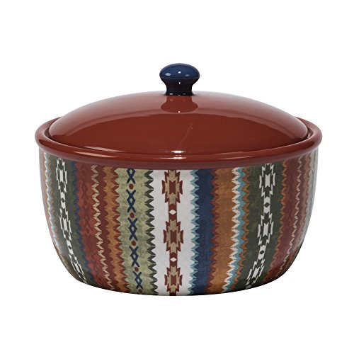 Certified International Monterrey Bean Pot, 80 oz, Multicolor