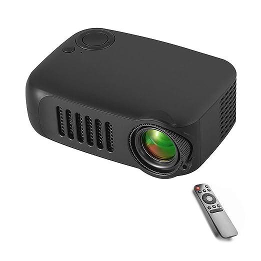 PeiQila Mini proyector, proyector de Video portátil actualizado ...
