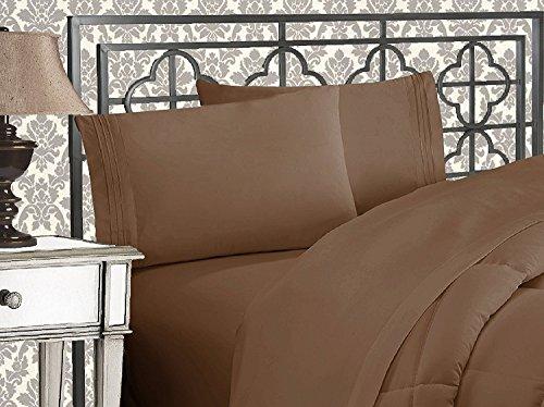 Elegant Comfort 3-Piece 1500 Thread Count Egyptian Quality B