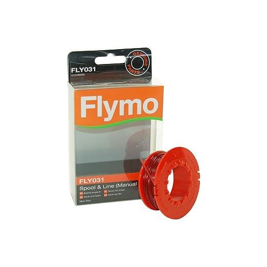 Flymo FLY031 5131060906 - Carrete con hilo para cortacésped ...