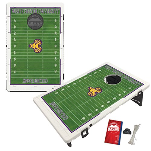 West Chester University Golden Rams Baggo Bean Bag Toss Cornhole Game Homefield Design by Victory Tailgate