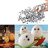 GreatFun 500 Pcs Cute Mixed Eyes Self Adhesive DIY Wiggle Googly Eyes Toy Doll Parts
