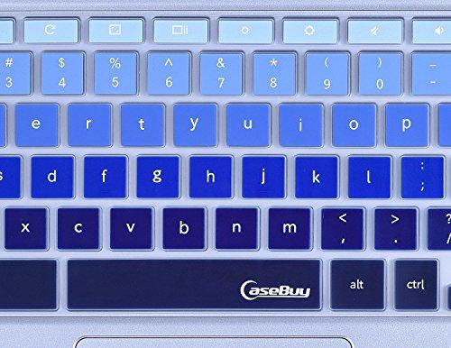 For-Samsung-Chromebook-Keyboard-Cover-Ultra-Thin-Keyboard-Skin-for-Samsung-ARM-116-Chromebook-2-XE500C12-Chromebook-3-XE500C13-116-inch-Chromebook-Gradual-Blue