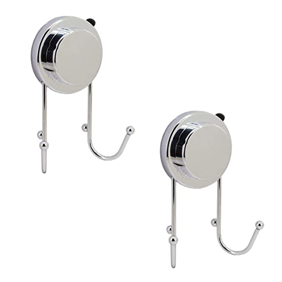 Household Supplies & Cleaning Single 4 Hook Hanger Suction No More Nails Chrome Strong Hold Robe Hook Vacuum