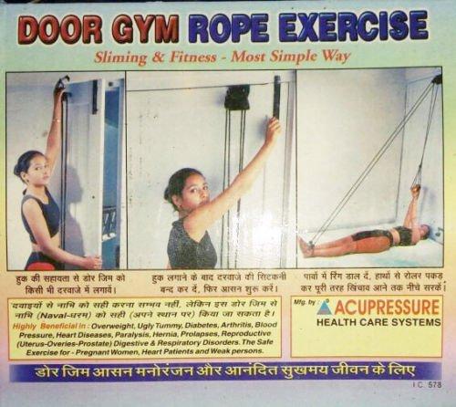 Acupressure Door Gym Rope Exercise Slimming and Fitness (B076ZMRVLN) Amazon Price History, Amazon Price Tracker